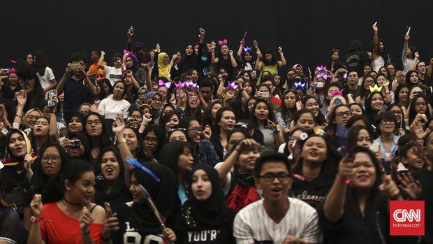 Ilustrasi penonton.