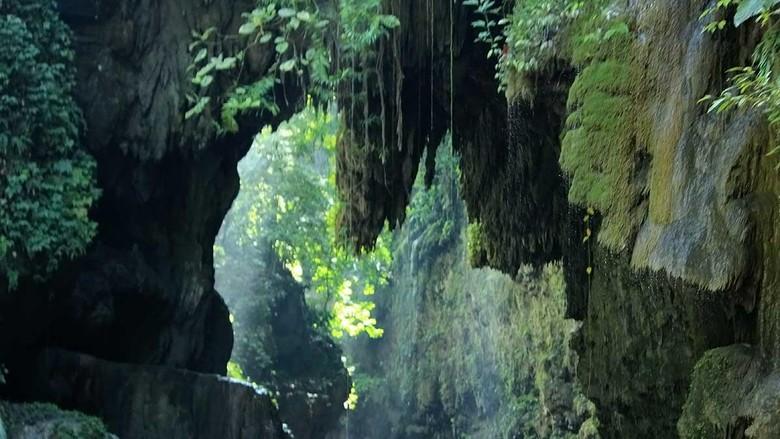 Objek wisata Green Canyon di Pangandaran