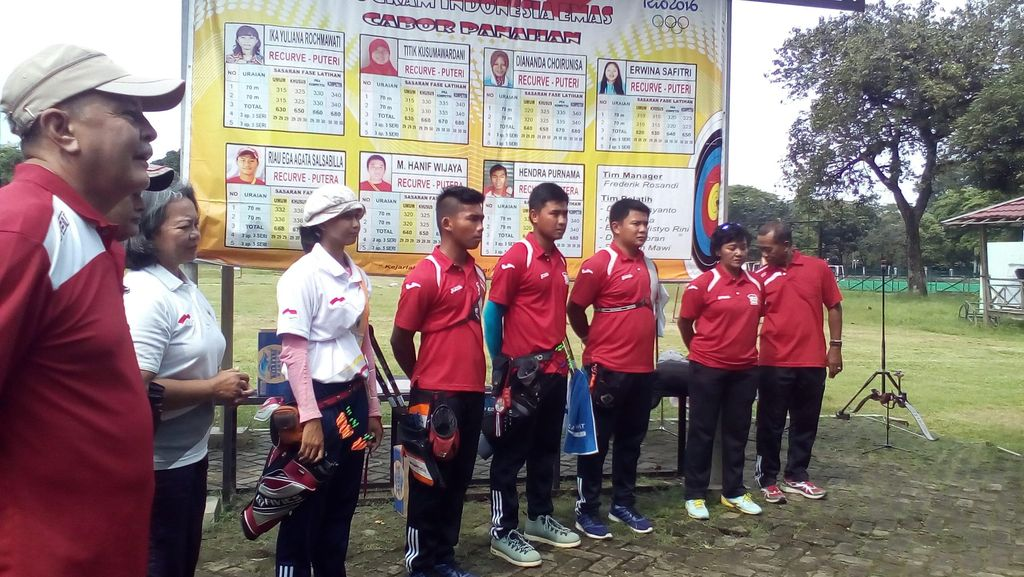 Jelang Olimpide, Latihan Tim Panahan Kian Fokus