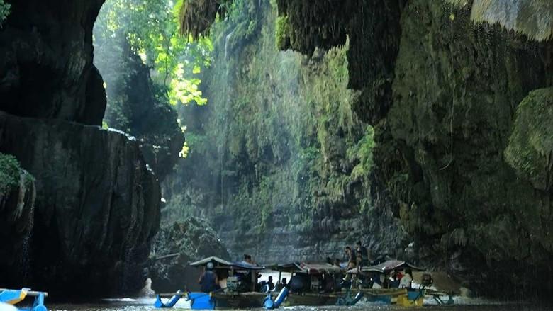 Green Canyon di Desa Kertayasa (Johanes Randy/detikcom)