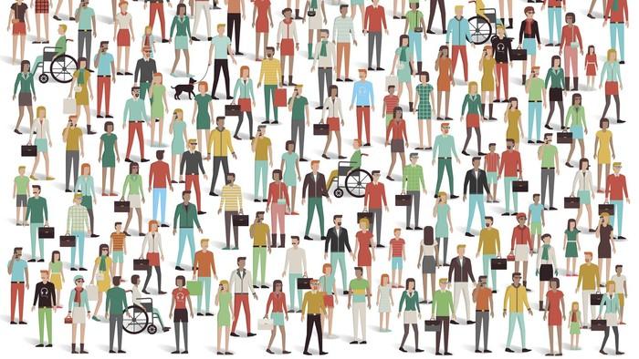 Ilustrasi demografi