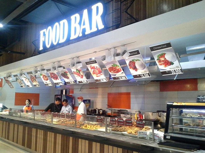 promo aneka pilihan menu di food bar transmart carrefour