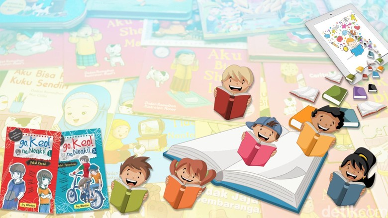 Industri Buku Anak Harus Adaptif dan Inovatif Foto: Ilustrasi: Luthfy Syahban