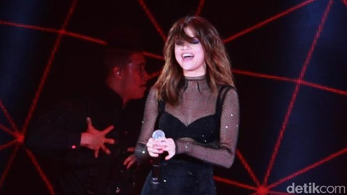 Selena Gomez alami kondisi sel darah putih yang rendah. (Foto: Asep Syaifullah)