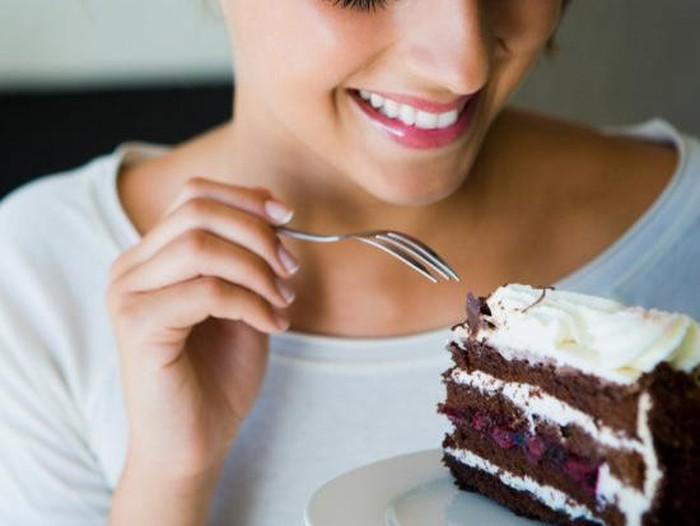 Ngidam makanan manis bisa jadi tanda depresi? Foto: iStock