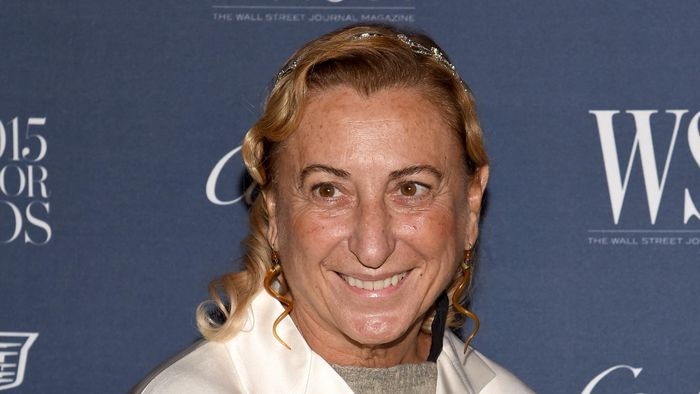 Miuccia Prada. Foto: Getty Images