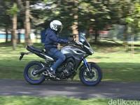 Menjinakkan Yamaha MT-09 Tracer