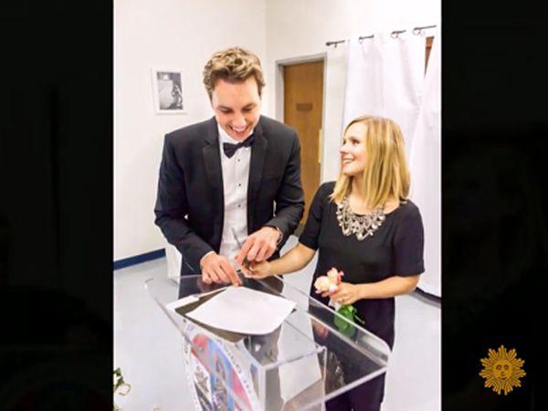 Bukan Gaun Pengantin Ini yang Dipakai Aktris Kristen Bell