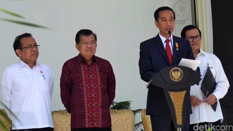 Ini Daftar Lengkap Reshuffle Kabinet Kerja Jilid II