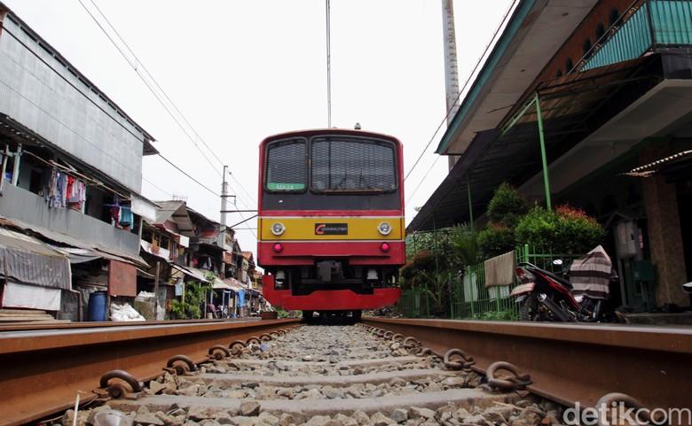 Jalur KRL di Jatinegara yang Terganggu Sudah Normal Lagi