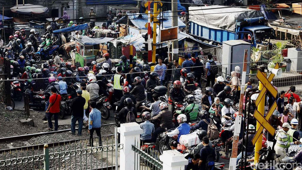 BPTJ: Stasiun Jadi Titik Kemacetan karena Belum Terintegrasi