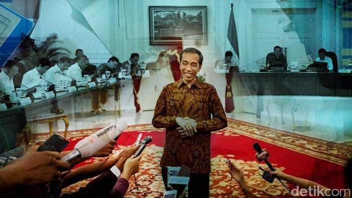 Ilustrasi Reshuffle Kabinet Jokowi