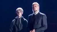 Draco bersama Scorpius. (dok. Manuel Harlan)