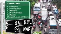 Sejumlah Titik di Jakarta Masih Banjir, Ganjil-Genap Sore Ini Ditiadakan