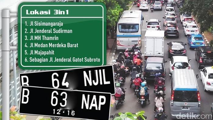 Infografis Ganjil Genap