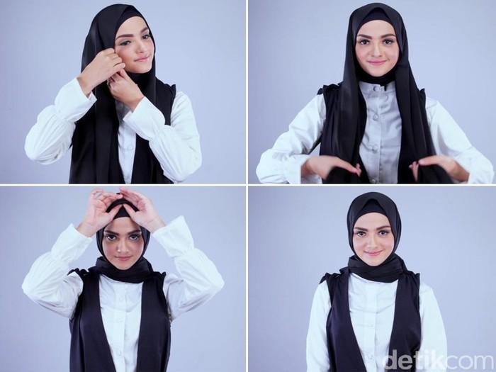 Tutorial Jilbab Turki Dari Model Cantik Berdarah Arab Nisma Bahanan