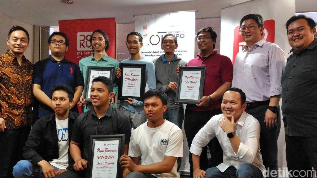 Ini 4 Juara Kompetisi Indonesia IoT Challenge
