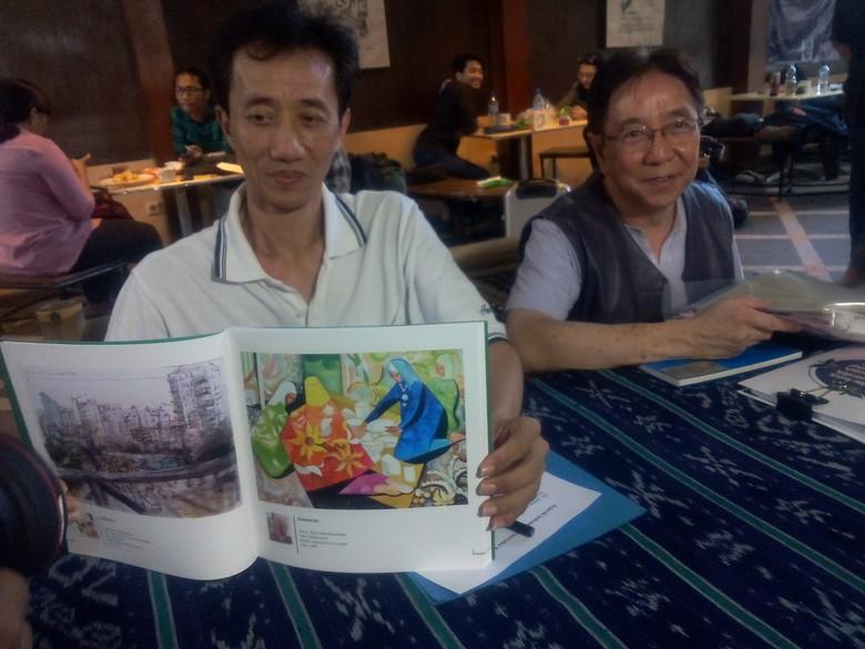 7 Negara Asia Ramaikan Pameran Lukisan Cat Air di Bandung