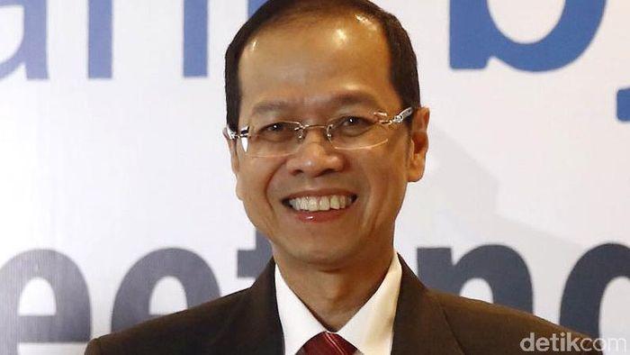Ahmad Irvan, Eks Direktur Utama PT Bank Pembangunan Daerah Jawa Barat dan Banten Tbk (BJBR)Foto: Rachman Haryanto