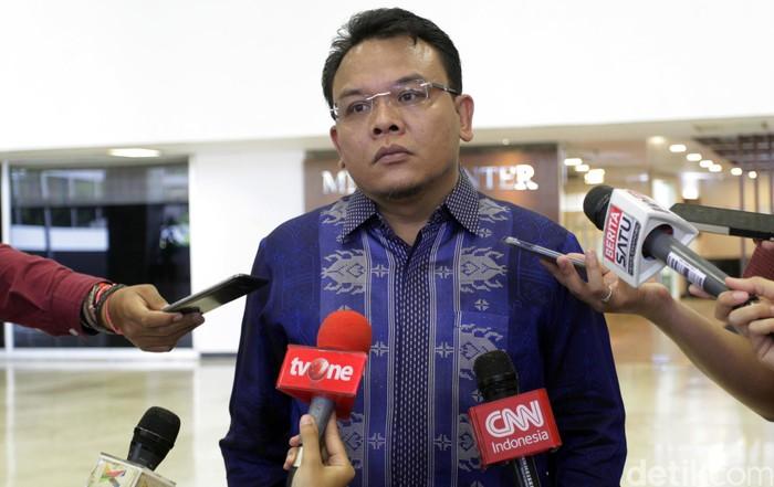 Wakil Sekjen PAN Saleh Daulay (Lamhot Aritonang/detikcom)