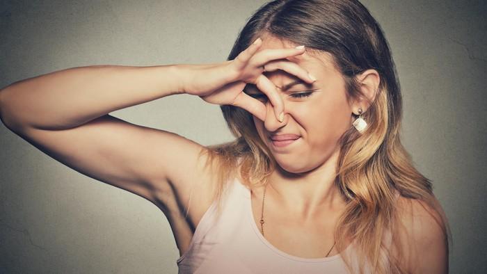 Ilustrasi bau karena kentut. Foto: thinkstock