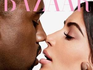 Intimasi Kim Kardashian dan Kanye West di Pemotretan Harpers Bazaar