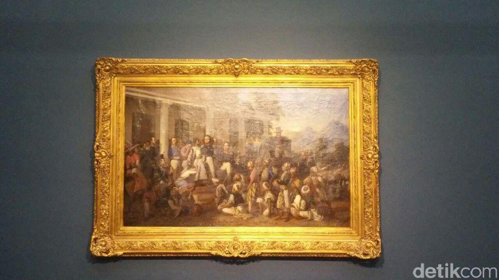 Penangkapan Pangeran Diponegoro, Lukisan Tertua dan Tak Ternilai Harganya