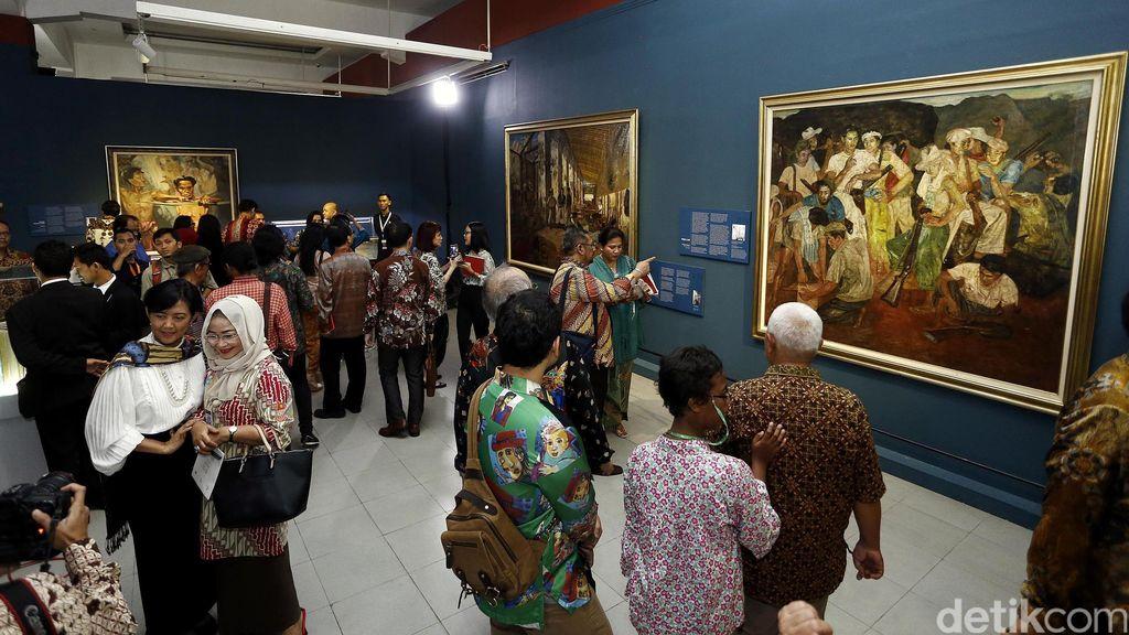 Ada 15.000 Koleksi Karya Seni di 6 Istana, Nilainya Ditaksir Rp 2,5 Triliun