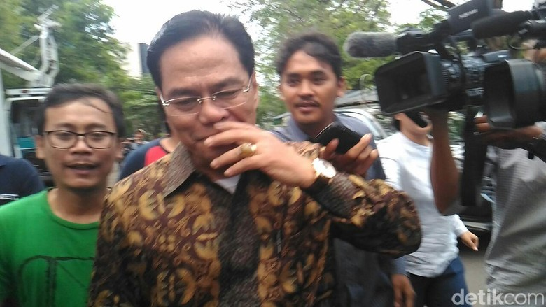 Hakim Tinggi PT Bandung Berlari Usai Diperiksa KPK di Kasus Saipul Jamil