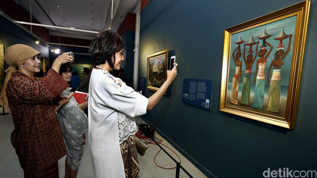 Pamerkan Lukisan Langka Istana, Galeri Nasional Dijaga Lebih Ketat