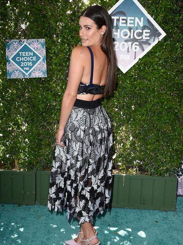 Lea Michele Semangat Olahraga Supaya Bisa Makan Sepuasnya