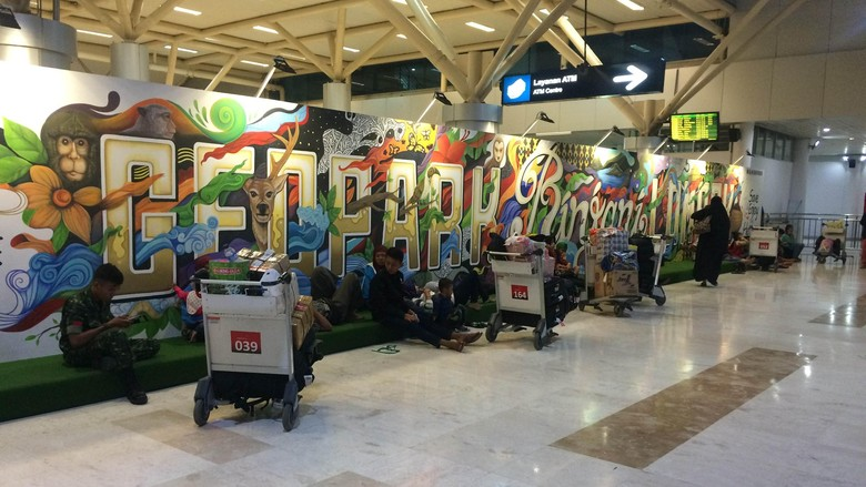Penumpang Batal Terbang, Pihak Bandara Lombok Sediakan Guest House Gratis