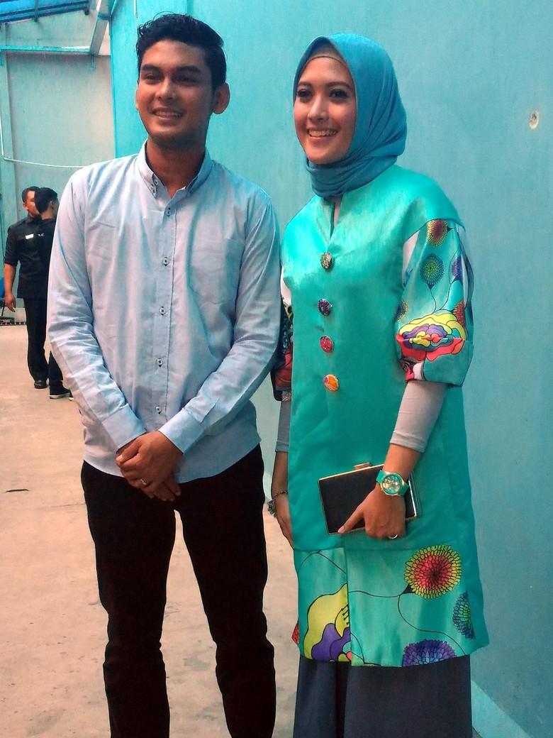 Ridwan Ghani dan Adhitya Putri / Foto: Desi Puspasari