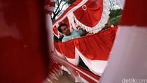 Bendera Merah Putih Gagal Dikibarkan Saat Upacara HUT Korpri