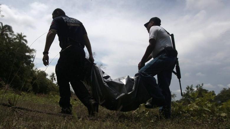 35 Jenazah Ditemukan Terkubur di Guadalajara Meksiko