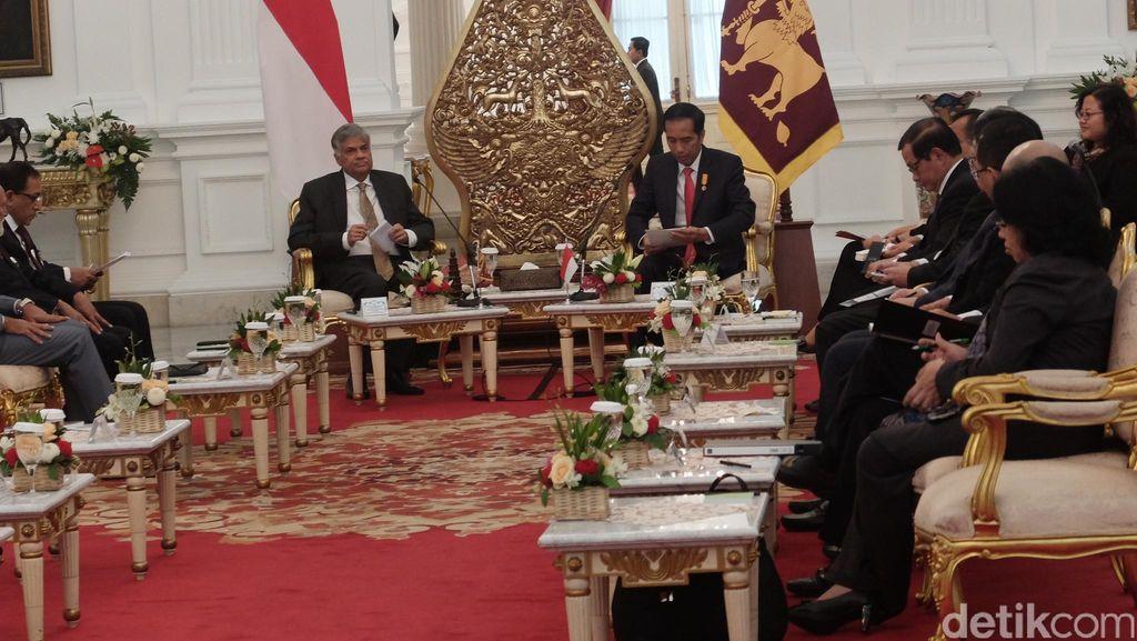 Ingin Ekspor Kereta Api ke Sri Lanka, Jokowi: Kita Jajaki Pasar Baru