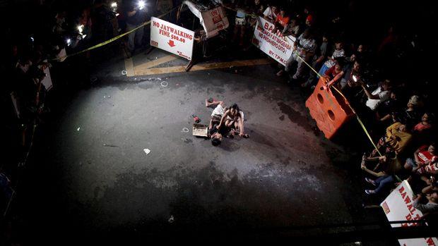 Korban perang narkoba yang dilancarkan Duterte.