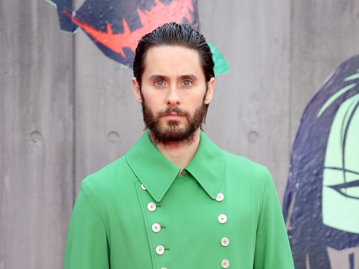 LONDON, ENGLAND - AUGUST 03:  Jared Leto attends the European Premiere of Suicide Squad at the Odeon Leicester Square on August 3, 2016 in London, England.  (Photo by Chris Jackson/Getty Images)