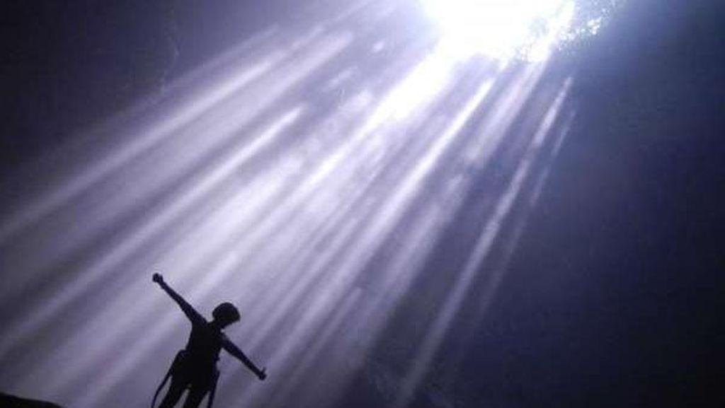Foto: Mudik ke Gunungkidul, Bisa Lihat Cahaya Surga