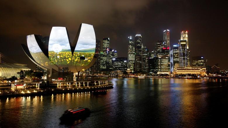 6 Terduga Teroris Berniat Serang Marina Bay, Singapura Tingkatkan Pengamanan