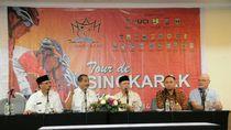 Tour de Singkarak Resmi Dibuka, Nidji Tampil Hibur Penonton