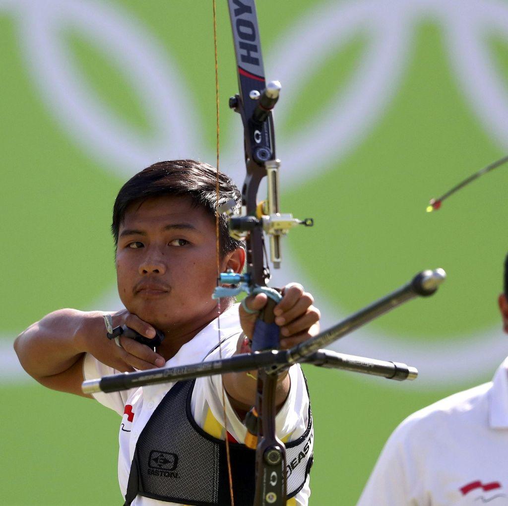 Riau Ega Tunda Ramadan Pertama Bersama Istri Demi Asian Games 2018