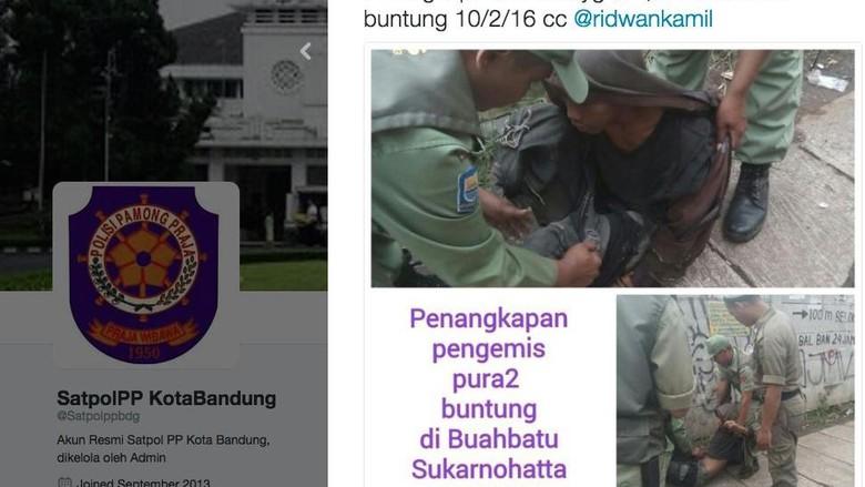 Cara Pemkot Bandung Bikin Kapok Pengemis: Permalukan di Media Sosial