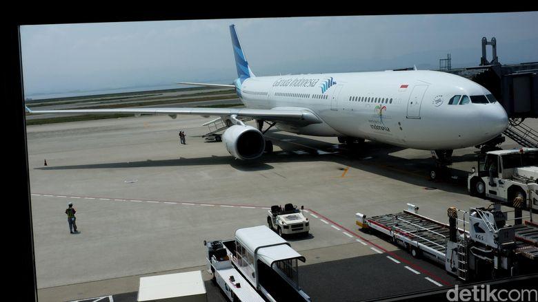 Pesawat Garuda.   dikhy sasra/ilustrasi/detikfoto