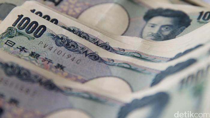 Uang Kertas Yen jepang. dikhy sasra/ilustrasi/detikfoto
