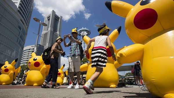 Gemes! Aksi Ribuan Pikachu Serbu Yokohama