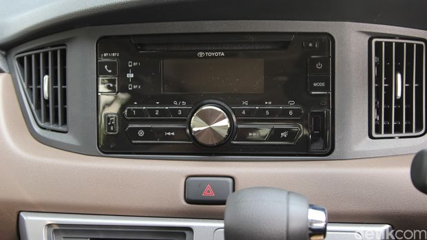 Audio Toyota Calya