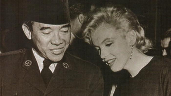 Sukarno dan Marilyn monroe