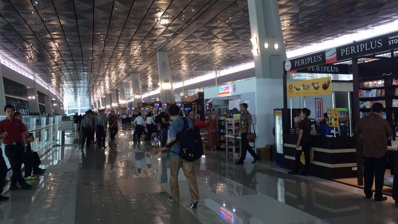 Begini Suasana Pagi Ini di Terminal 3 Bandara Soekarno Hatta