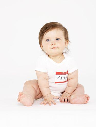 Ilustrasi nama bayi paling populer 2018.